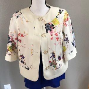 Ted Baker Cropped Floral Jacket